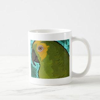 Papagei Kaffeetasse