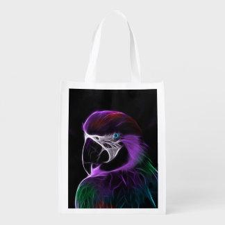 Papagei Wiederverwendbare Einkaufstasche