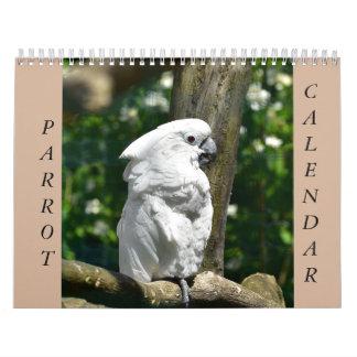 Papageien-Kalender Kalender