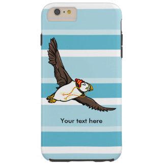 Papageientaucher, der einen Hut ein gestrickter Tough iPhone 6 Plus Hülle