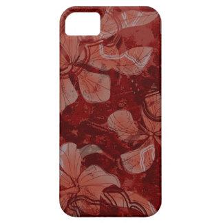 Papaloa Hibiskus-hawaiische Lava-Felsen-Malerei iPhone 5 Schutzhülle