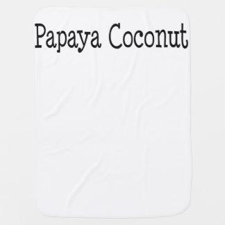 Papaya-Kokosnuss Kinderwagendecke