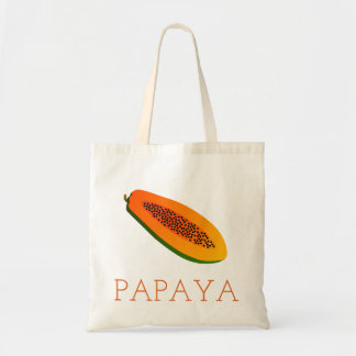 Papaya Tragetasche
