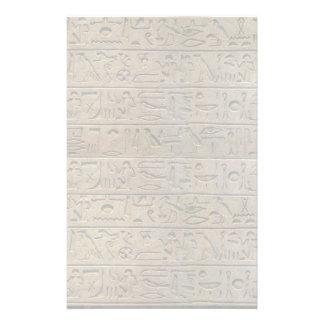 Papier à lettres égyptien antique de conception papeterie