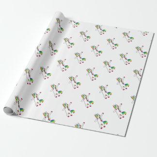 Papier Cadeau Dab licorne