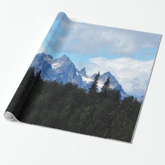 Papier Cadeau Papier d'emballage de la chaîne d'Alaska 77