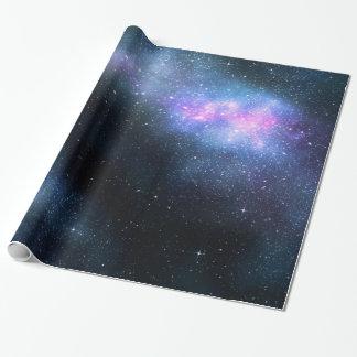 Papier Cadeau Papier d'emballage de manière laiteuse de galaxie