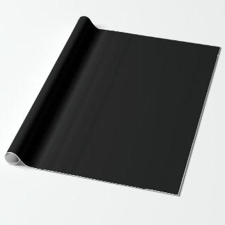 Papier Cadeau Papier d'emballage/enveloppe de cadeau noirs et