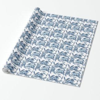 Papier-Verpackung Williams De Morgan Rabbits Geschenkpapier