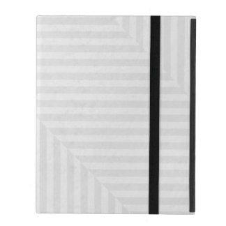 Papierhintergrund des gestreiften Musters iPad Etuis