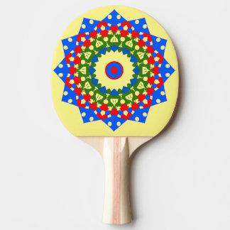 Papierloch-Durchschlags-Klingeln Pong Paddel Tischtennis Schläger