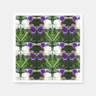 Papierservietten-Blumen-Girlanden KUNST durch Serviette