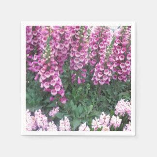 Papierservietten-Blumen-Girlanden KUNST durch Servietten
