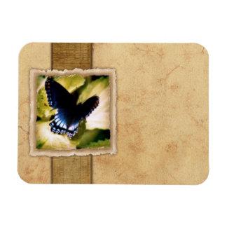 Papillon de monarque vintage magnets en vinyle