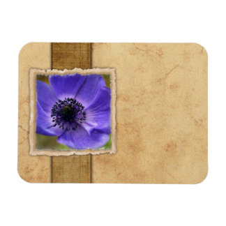 Papillon de monarque vintage magnets en rectangle