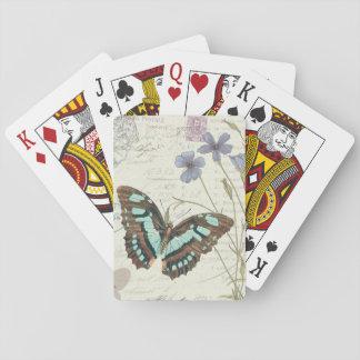 Papillon Geschichten Spielkarten