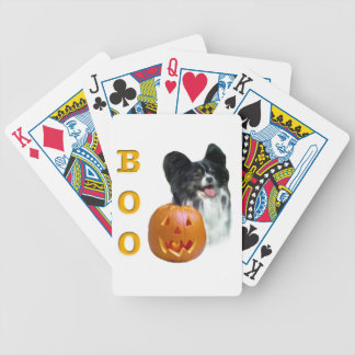Papillon Halloween BOO Bicycle Spielkarten