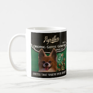 Papillon Marke - Organic Coffee Company Tasse