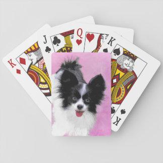 Papillon (Weiß und Schwarzes) Spielkarten