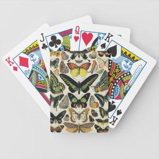 Papillons Bicycle Spielkarten