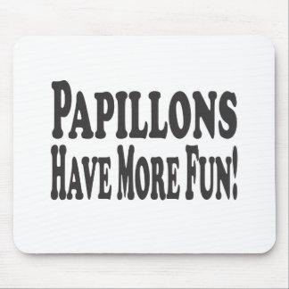 Papillons haben mehr Spaß! Mousepads