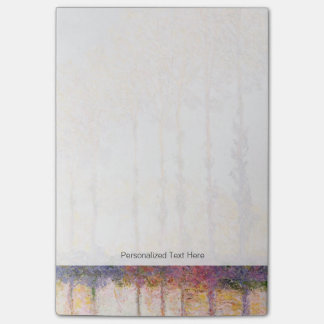 Pappeln Claude Monets | auf den Banken des Epte Post-it Klebezettel