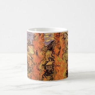 Pappeln Van Gogh zwei auf einer Straße durch die Kaffeetasse