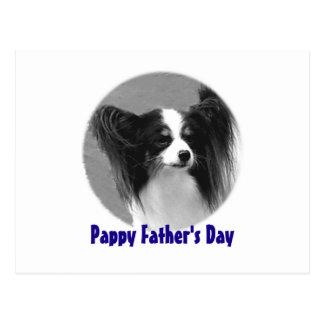 Pappy der Vatertag Postkarte