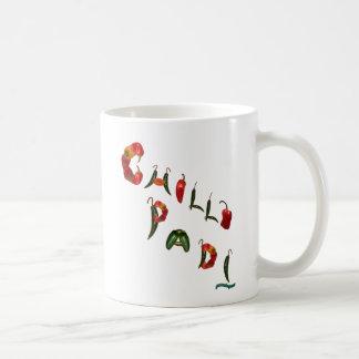 Paprikas Padi Chili-Paprikaschoten Kaffeetasse