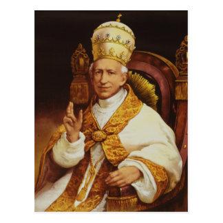 Papst Löwe XIII Vincenzo Gioacchino Luigi Pecci Postkarte