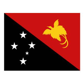 Papua-Neu-Guinea Flaggen-Postkarte Postkarte