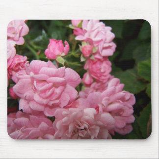 Paquet de rose de rose tapis de souris