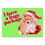 Paquet énorme de Santa Cartes