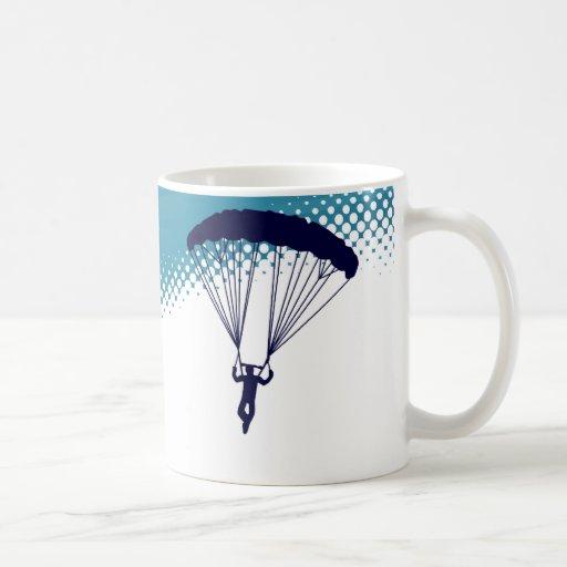 parachutisme extrèmement haut mugs