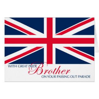 Parade-Glückwünsche für Bruder heraus führen Grußkarte