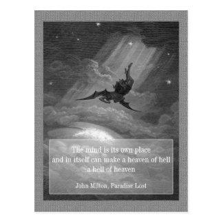Paradies verlorenes CC0148 Postkarte