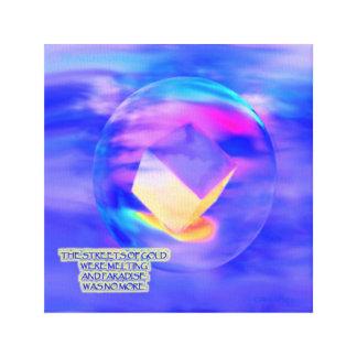 Paradies war nicht mehr Konzept-Kunst durch Gary Leinwanddruck