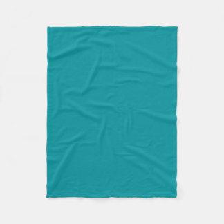 Paradingly Posh aquamarine Farbe Fleecedecke