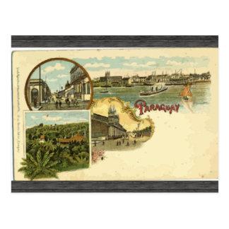 Paraguay, Vintag Postkarte