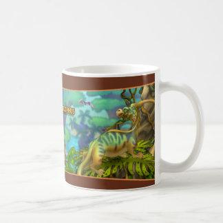 Parasaurolophus Dinosaurier Kaffeetasse