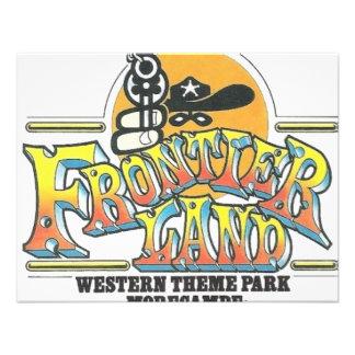 Parc d attractions de Frontierland Morecambe Angle Invitations Personnalisées