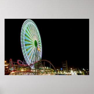 Parc d'attractions de Yokohama Affiche