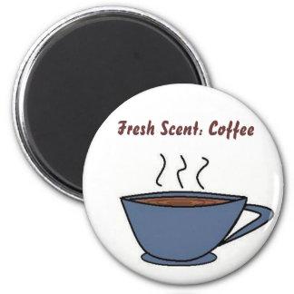 Parfum frais : Café Magnet Rond 8 Cm