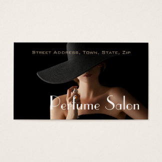 Parfüm-Salon-Duft-Geruch-Aroma-Modell Visitenkarte