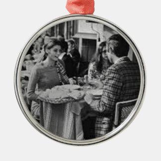 Paris Böhmen Silbernes Ornament
