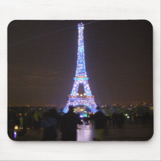 Paris-Eiffelturm nachts Mousepads