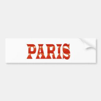 PARIS, FRANKREICH:  Franzosen, Mode, Reise, Autoaufkleber