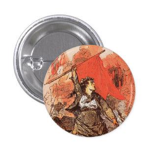 Paris-Kommuneknopf Runder Button 2,5 Cm