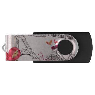 Paris-Liebe USB-Blitz-Antrieb USB Stick