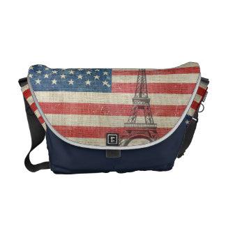 Paris loves die USA Kuriertaschen